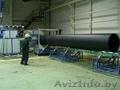продам линию для производства навивных труб из ПНД