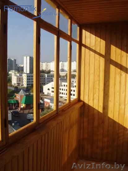 Остекление балконов от компании окнамобифон быстрое остеклен.