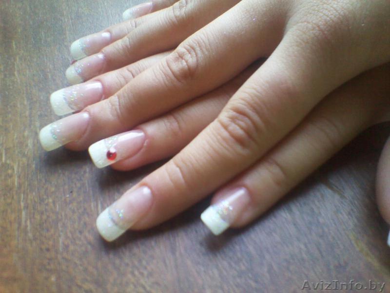 Нарастить ногти гомель