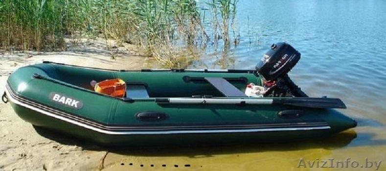 лодка надувная барк от мотором