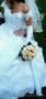 Белое свадебное платье б/у